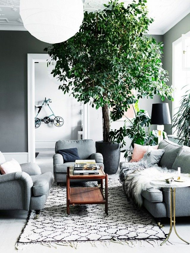 Trouvailles Pinterest: Le gris | Les idées de ma maison Photo: ©Bo Bedre | Mikkel Adsbøl - House of Pictures #gris #couleur #pinterest #deco