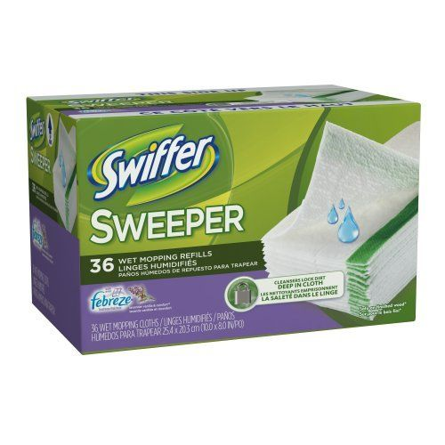 swiffer sweeper wet mop instructions