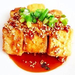 お手軽ユーリンチー 油淋鶏 鶏肉の代わりに厚揚げで レシピ・作り方 by liqueur|楽天レシピ