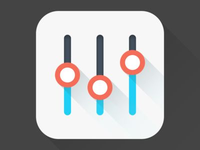 Dribbble - Equalizer app icon by Beline