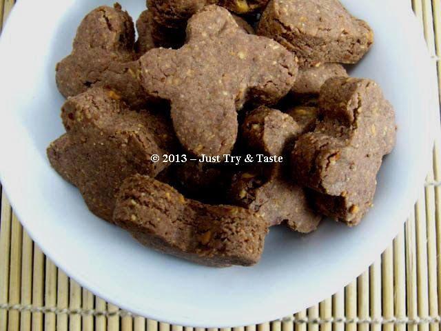 Cookies Coklat Kupu-Kupu dengan Almond - Bebas Gluten, Casein dan Telur!   Just Try & Taste