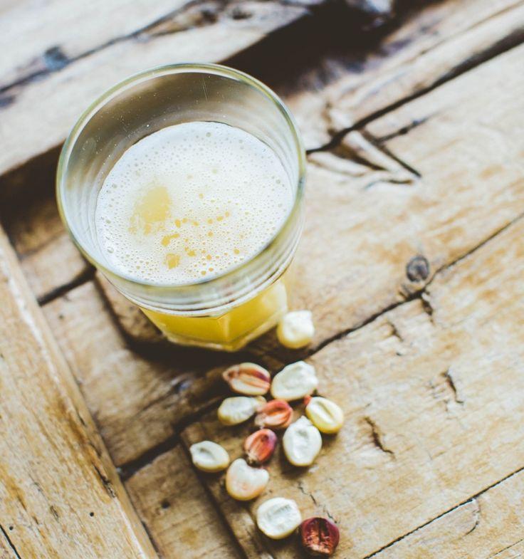 Chicha de Jora is a fermented corn beer originated in the Incan Empire