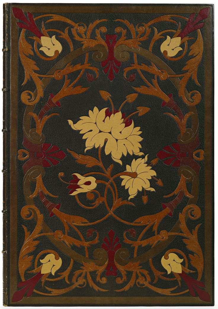 ≈ Beautiful Antique Books ≈ The Book of Ruth, leather bound. Binder: Marius Michel ca. 1875.
