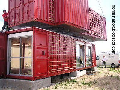 Casa modular hecha de contenedores