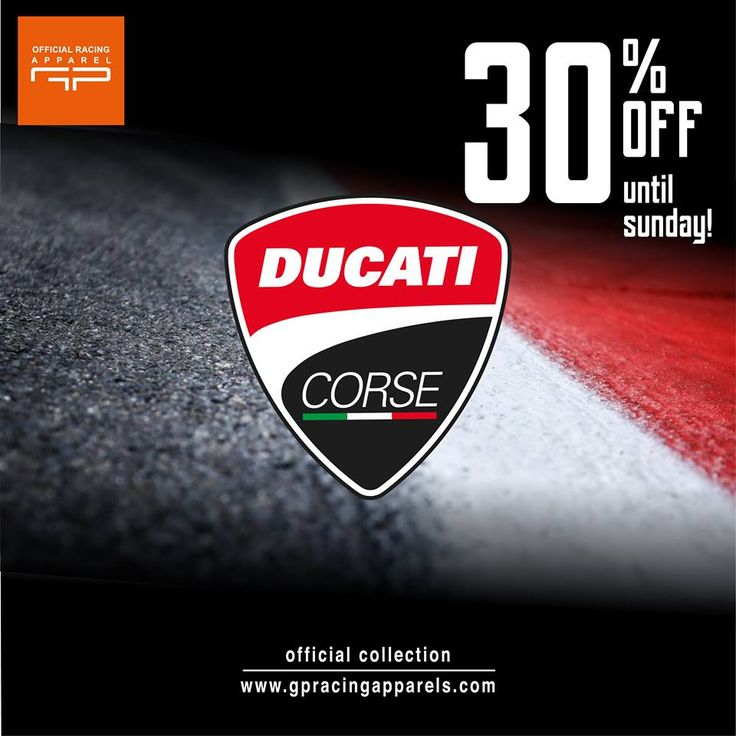 17-22 JAN 2017 - 30% OFF  #ducati #desmosedici #ducaticorse #motogp