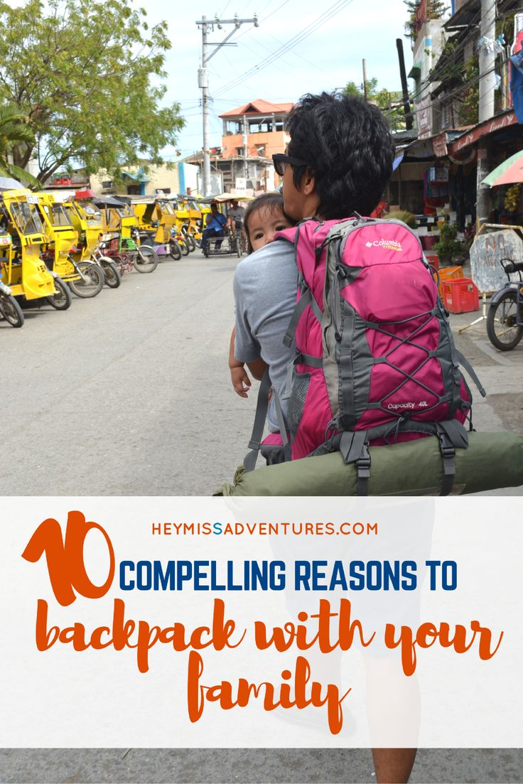 Backpacking with your family allows you to experience many things. It isn't for the faint of heart but it isn't impossible, either.