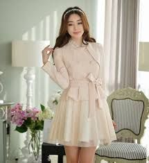 Resultado de imagen para vestidos casuales fashion korea