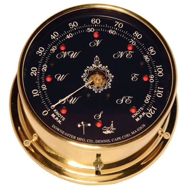 Downeaster Blue Dial Wind Speed and Direction Combo with Tru Gust - 3035B