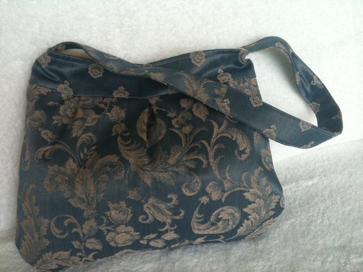 Designer Fabric Handbag.
