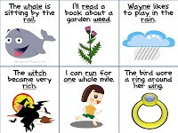 """Minimal Pairs in Sentences -   flash cards to address phonological process errors! These cards address the phonological process of """"gliding,"""" which refers to substituting a /w/ or /y/ sound (a """"glide"""") for a /r/ or /l/ sound (a """"liquid"""")."""