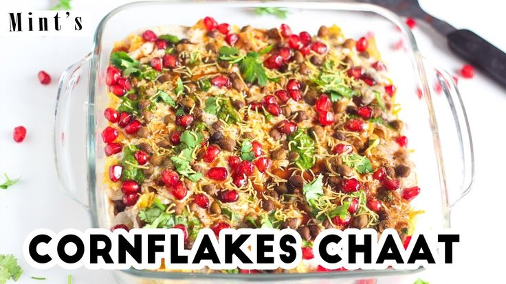 Cornflakes Chaat Recipes in Hindi-Evening Snacks Recipes-Chaat Recipes-E...