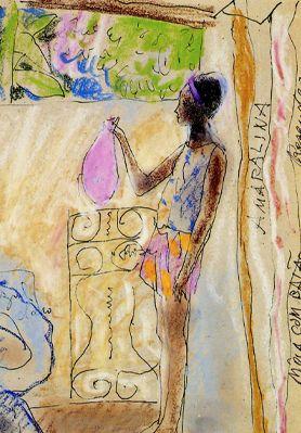 "Style ""Neo-Expressionism"" Julio Resende"