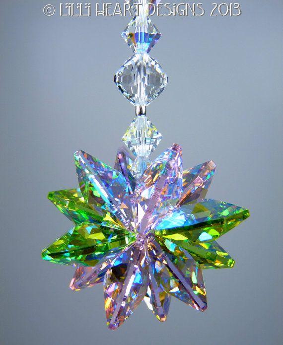 Made With Swarovski Crystal Suncatcher RARE by LilliHeartDesigns, $20.99