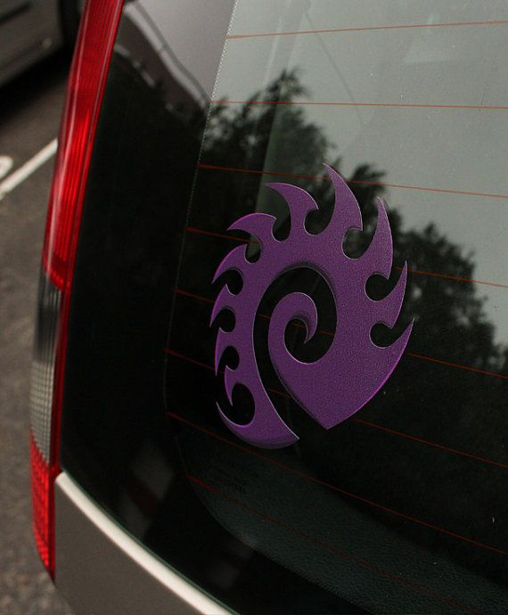 Zerg Race Starcraft 2 Decal by patchnotes on Etsy, $9.00