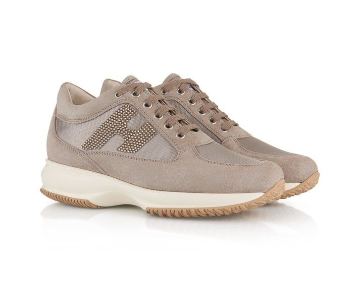 Hogan Interactive sneakers in Suede and fabric - Italian Boutique €209