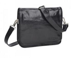 Nicholas Jermyn Father's Day Gifts - Leather Satchel Black, $329