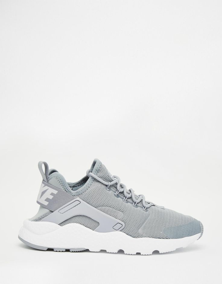 Image 2 of Nike Stealth Grey Air Huarache Ultra Trainers