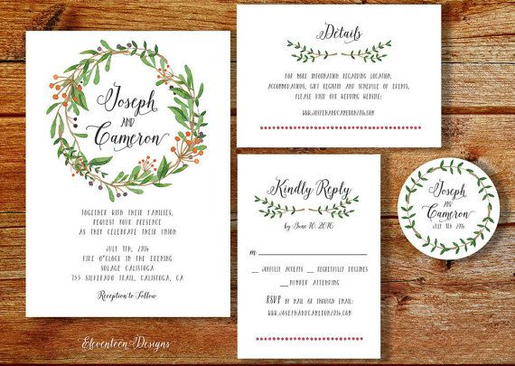diy wedding invitation kit printable wedding invitation rustic wedding invitation the sea ranch collection - Printable Wedding Invitation Kits