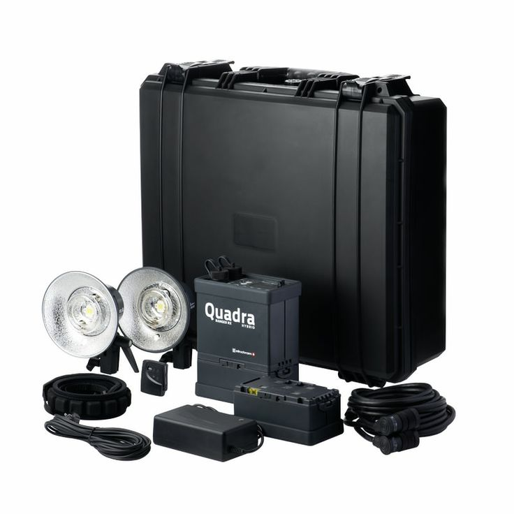 The Quadra Hybrid ASRXis a compact portable 400 Ws battery flash system for studio and outdoors use.