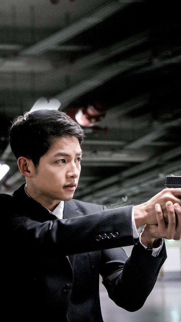 Song Joong Ki Captain Yoo Si Jin, Descendants of the Sun