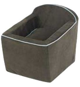 Microvelvet Dog Car Seat in Expresso Sky by Bowsers (More Colors)