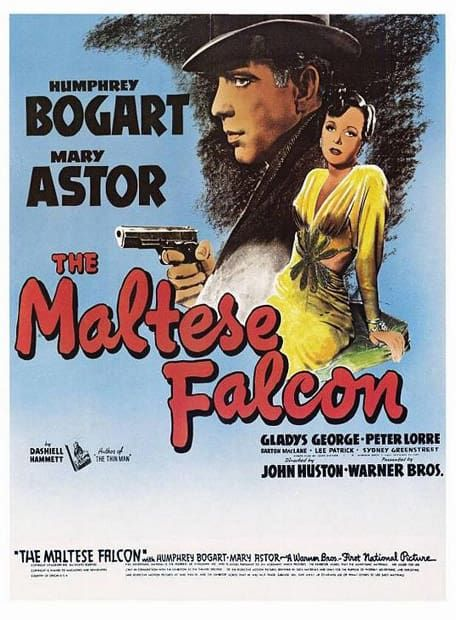 69. The Maltese Falcon (1941) - The 75 Most Iconic Movie Posters of All Time | Complex