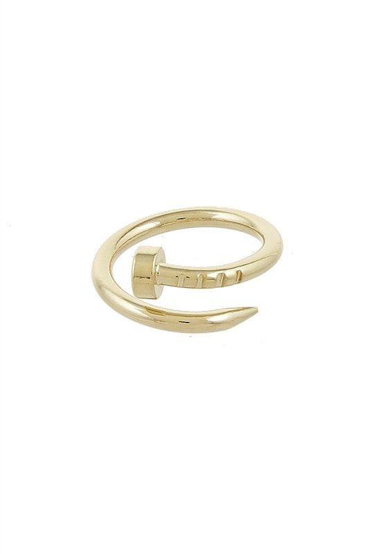 Nailhead Ring