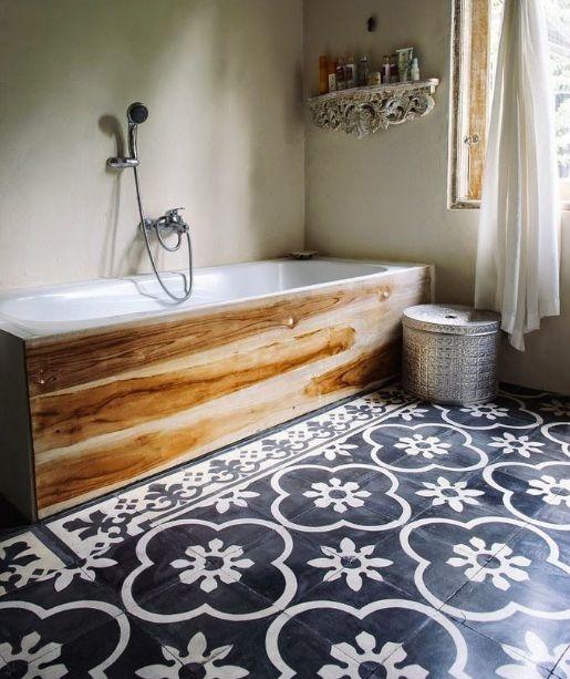 Painting Bathroom Floor Tiles to Bring Positive Energy | Flooring ...