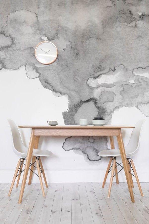 Wandfarbe Aquarell – tolle Ideen für jeden Hausbesitzer   – DIY Ideen