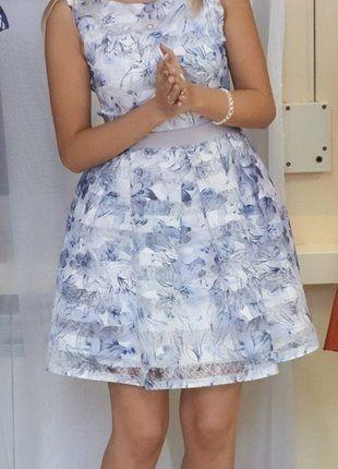 Kup mój przedmiot na #vintedpl http://www.vinted.pl/damska-odziez/krotkie-sukienki/18009269-sukienka-lekko-rozkloszowana