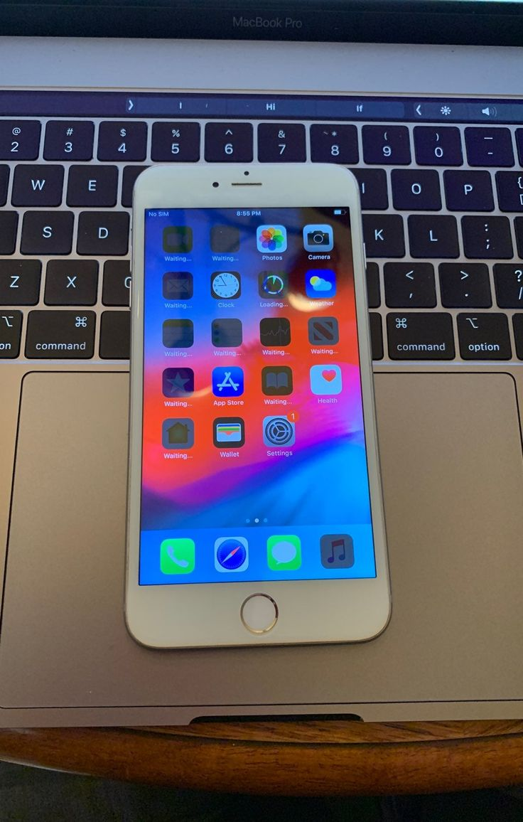 Carrier unlocked model iphone 6 plus the phone is 16gb