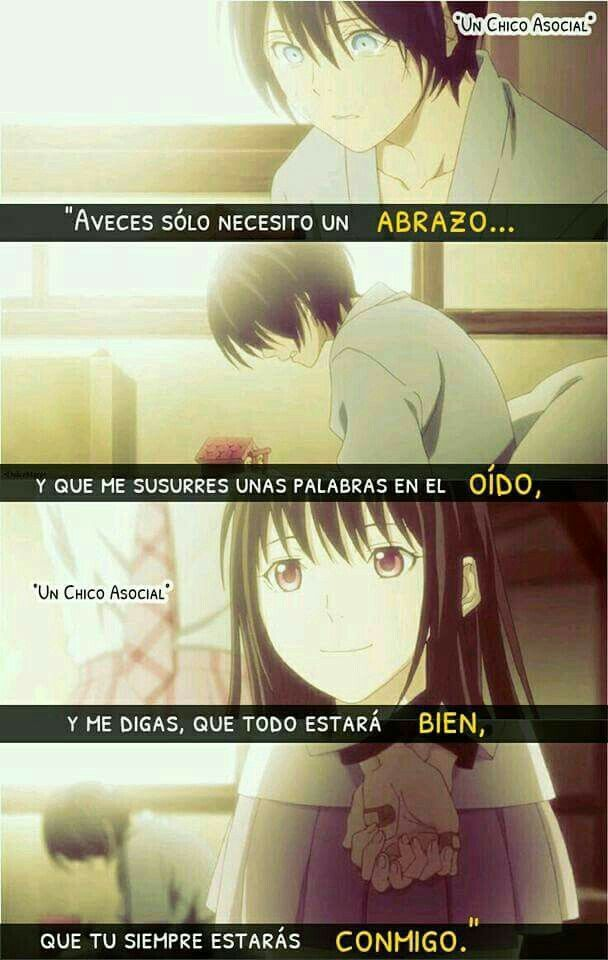 Aceves Solo Frases Pinterest Frases Anime Love Y Noragami