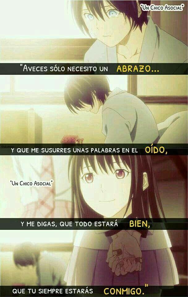 Frasesamor Anime Con Frases De Amor Triste