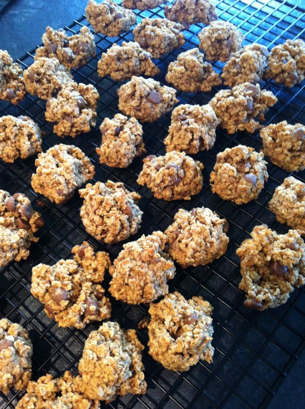 Low fat oatmeal chocolate chip cookies | Low Fat Desserts | Pinterest