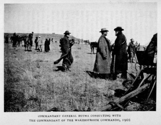 Boer surrender Wakkerstroom commando