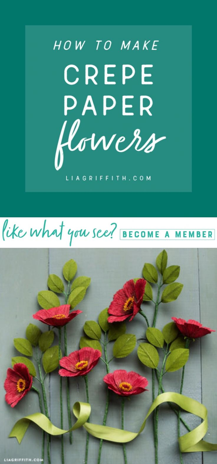 How to Make Crepe Paper Flowers  Eager to make your first crepe paper creation? We'll teach you the essentials you need to succeed in making beautiful and realistic blooms that last.  https://liagriffith.com/how-to-make-crepe-paper-flowers/ * * * #flower #flowers #crepepaper #crepepaperrevival #crepepaperflowers #paper #paperart #paperartist #papercut #paperlove #diy #diycraft #diycrafts #diyproject #diyprojects #craft #tutorial #tips #tipsandtricks #madewithlia