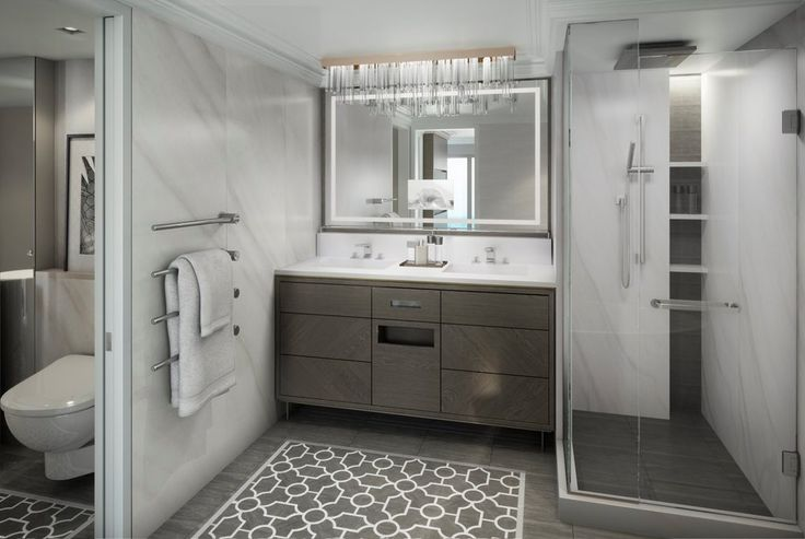 Owners Suite Bathroom - Crystal Yacht Cruises | The Luxury Cruise Company - Crystal Esprit #cruise #luxury #yacht #travel