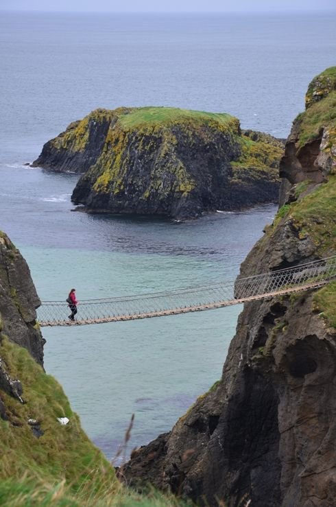 Carrick-a-Rede Rope Bridge - Ballintoy, Antrim, United Kingdom