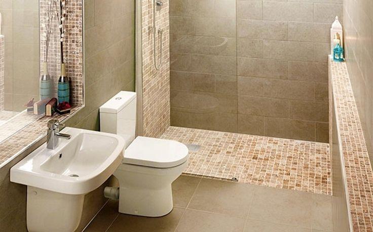 Small bathroom wet room