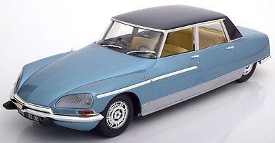 Norev Citroen DS 21 Chapron Lorraine 1969 Blue 180106 Model Car 1:18 Genuine New