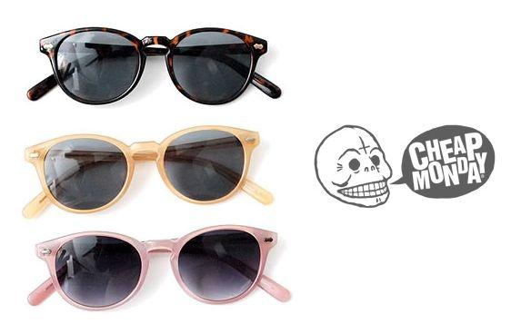 #sunglasses #CheapMonday #Eyewear #spectacles #colors #sale@toc