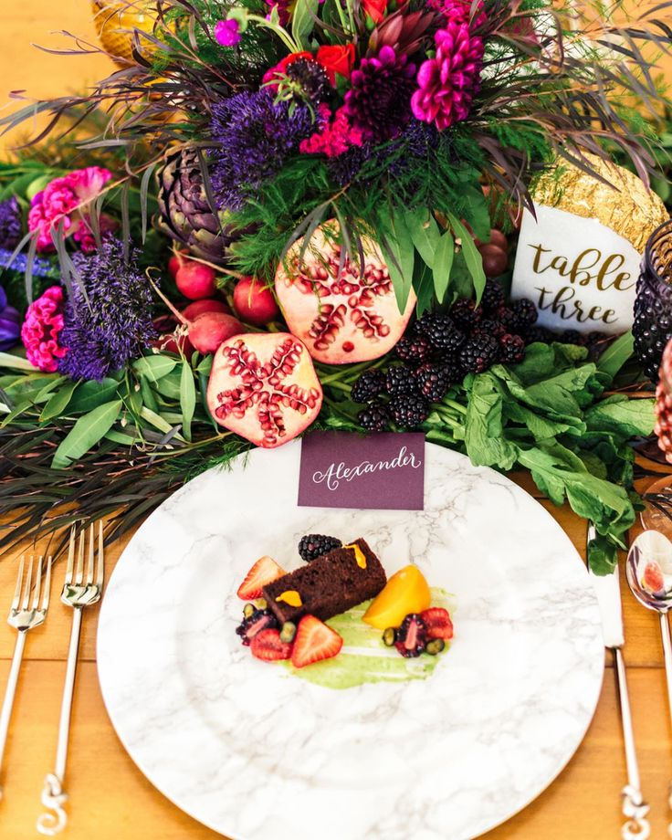 """188 Likes, 7 Comments - Modern Art Catering (@modernartcatering) on Instagram: """"Happy Thanksgiving everyone!🦃🍂🍃 (Produced by @beinspiredpr, Photography by @sanazphotography,…"""""""
