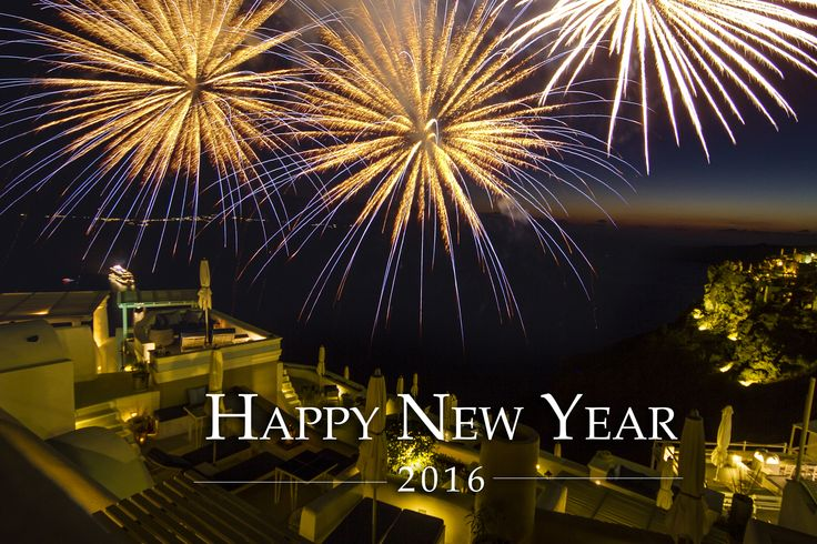 The Iconic family wishes our visiting friends and followers a Happy New Year and and all the very best for a healthy and prosperous 2016! #happynewyear #iconicsantorini #imerovigli #santorini #greece