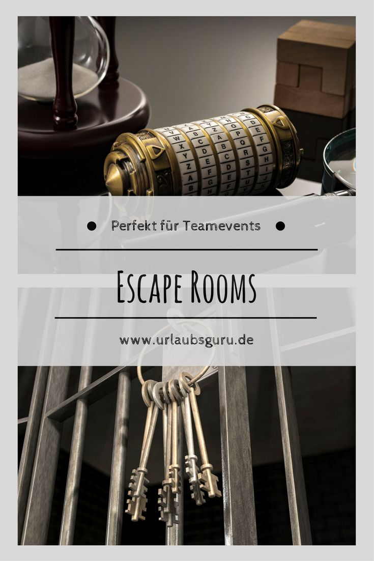 Escape Rooms sind total im Trend! Wollt auch ihr euch eine Stunde lang einsperren lassen und im Team versuchen, die verschlossene Tür zu öffnen, dann werft mal einen Blick in diesen Artikel. Live Escape Games sind perfekt für Teamevents - warum, das erfahrt ihr hier.