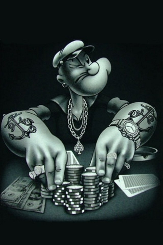 Gangster Popeye iPhone Wallpapers I Like Pinterest