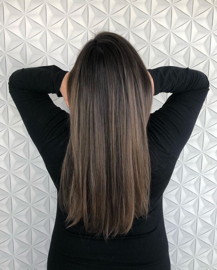 """Seattle Balayage Hairstylist on Instagram: """"Taking @faithmeow back to the dark side! She's going to be a mom soon 🤩! Her hair has transitioned ..."""