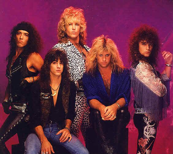 Ratt, cause 80s hair bands are just the best.