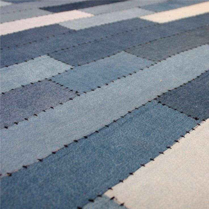 Denim rug by babyface .