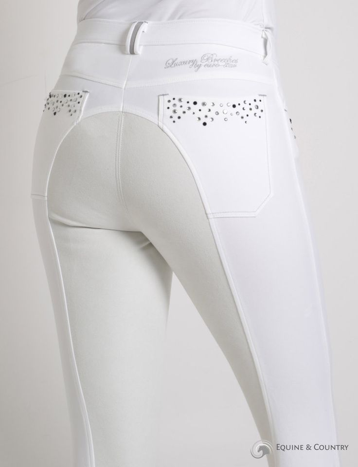 Euro-Star Laura Deluxe Breeches with Full Seat | Dressage ...