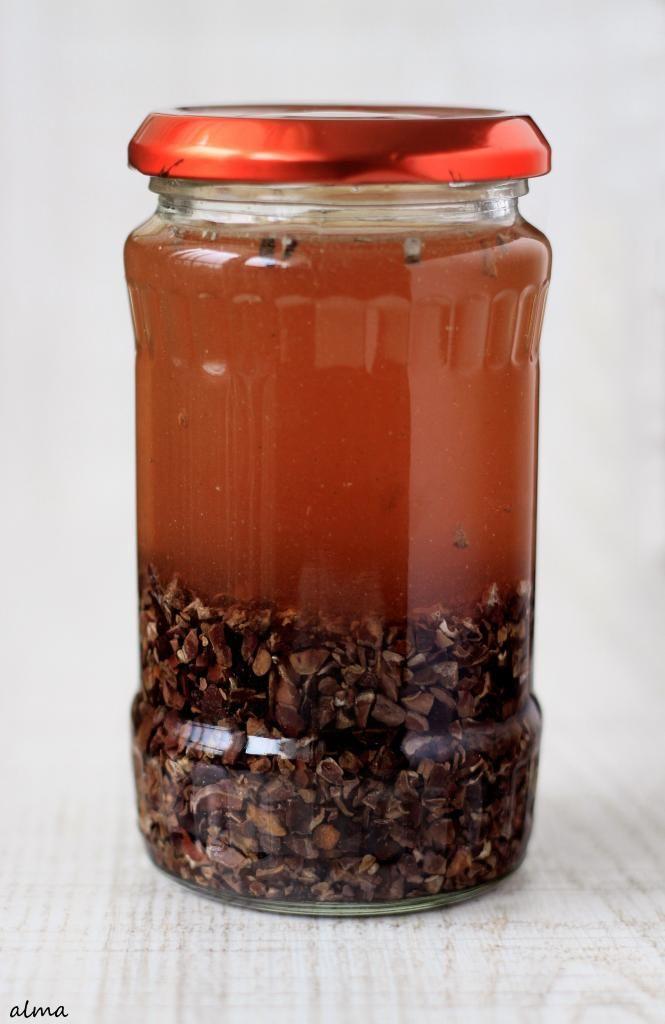 Homemade Crème de Cacao Liqueur